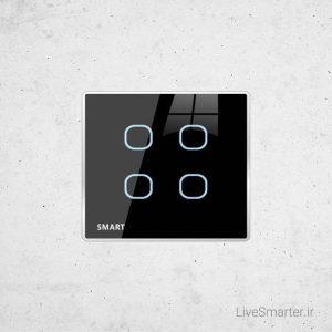 کلید هوشمند SB-Bubbles4T-EU جی فور | G4 SB-Bubbles4T-EU Touch Switch